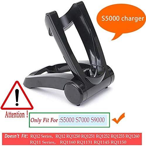 Asiento plegable recargable para afeitadora Philips S5000 S7000 S9000 Shaver