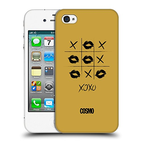 Official Cosmopolitan Game Kiss Mark Hard Back Case for Apple iPhone 4 / 4S