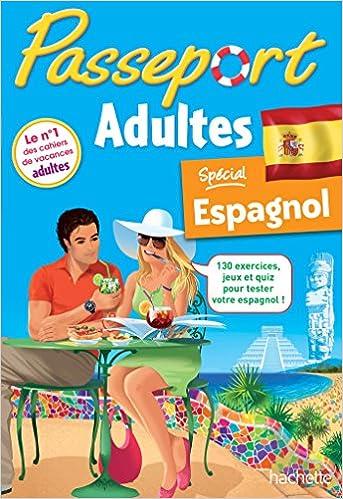Amazon Fr Passeport Espagnol Adultes Cahier De