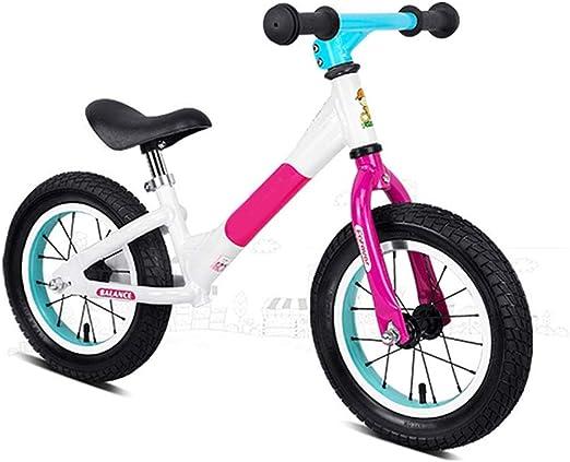 Bicicleta de equilibrio para los niños pequeños Ligeros de 12