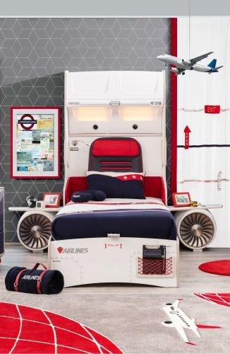 Cilek First Class Bett mit Kabinenkopfteil
