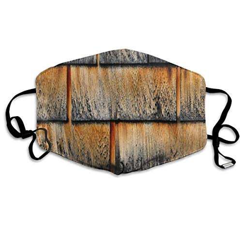 Wood Shingles Sanitary Mask Anti Pollution Mouth Cover for sale  Delivered anywhere in USA