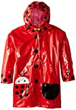 Kidorable Toddler/Little Kid Ladybug Raincoat, Red, 5 6