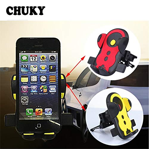 (CHUKY Car Air 360 Degree Rotation Holder Outlet Phone Stand for Mercedes Benz W203 W204 211 AMG Smart Starline A93 Citroen C4 C5)