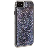 Case-Mate - iPhone 7 Case - Waterfall - Cascading Liquid Glitter - for iPhone 7 / 6s / 6 - Black