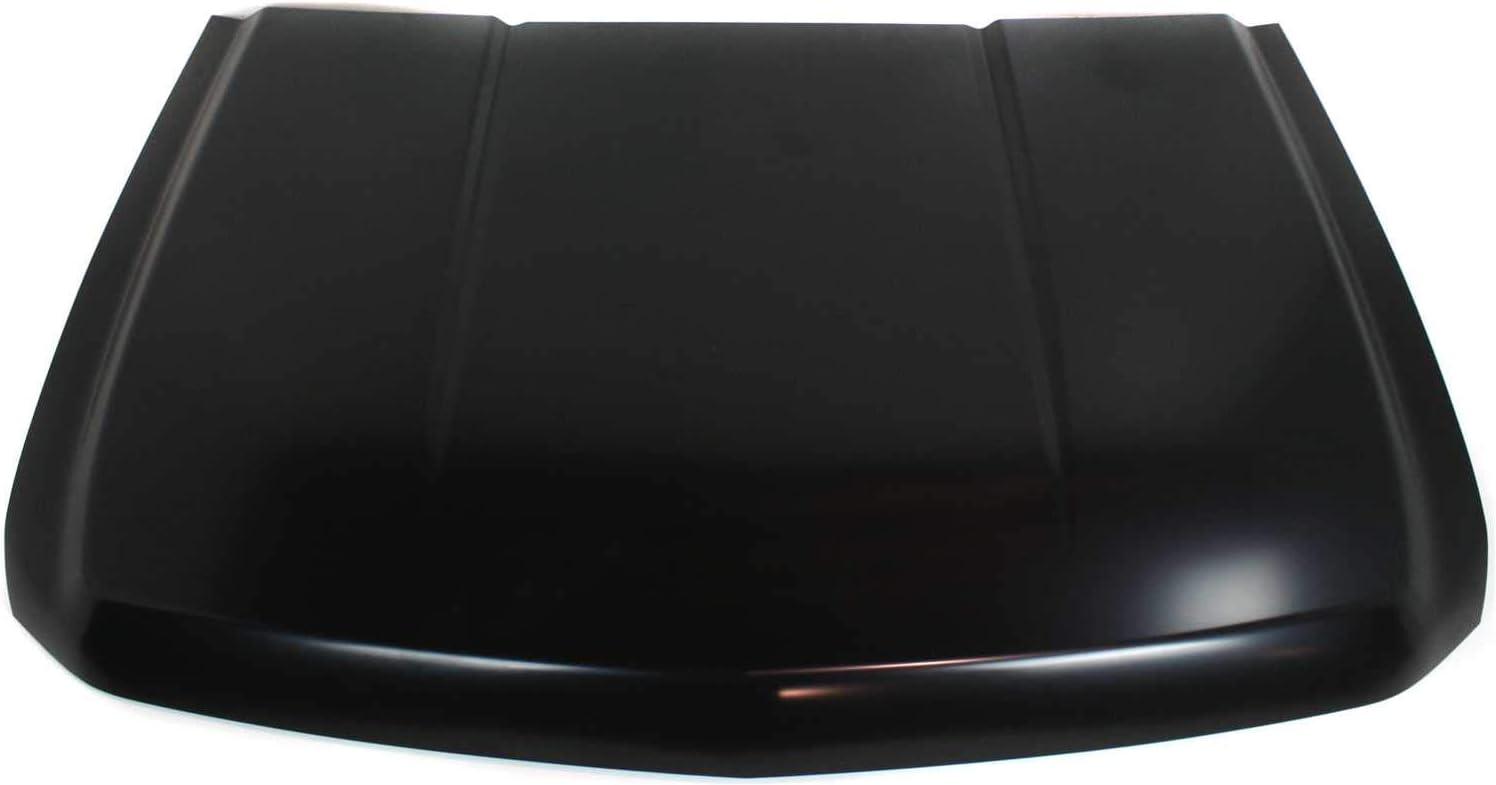 Hood Compatible with CHEVROLET SILVERADO 1500 2007-2013 Steel