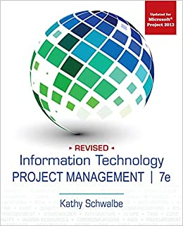 Information Technology Project Management Kathy Schwalbe Pdf