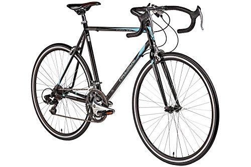 Rennrad 28 Zoll Hillside Cito 2.0 in schwarz Fahrrad 700C Hillside Cito 2.0 Bike 14 Gang Shimano Schaltung 56 cm Rahmenhöhe