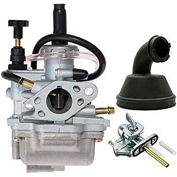 Anfu for 1987-2006 Suzuki LT80 LT 80 QUADSPORT ATV Carburetor CARB and Intake Manifold
