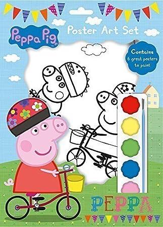 shop inc Peppa Pig Cartel Juego de Arte: Amazon.es: Juguetes y juegos