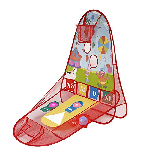 Baby Play Games Tent, OUTAD Toddler Basketball Hoop Kids ...