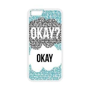"GGMMXO Okay Okay Shell Phone Case For iPhone 6 Plus (5.5"") [Pattern-3]"