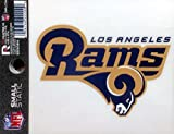 Los Angeles Rams NEW LOGO 3.5'' Static Cling Decal Window Glass Sticker Football