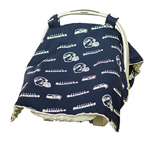 Baby Fanatic Carseat Canopy - Seattle Seahawks