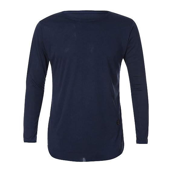 Camiseta de Manga Larga Hombre, BBestseller Camisa Chándal para ...