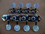 Rubner Mandolin Tuning Machines / Silver Nickel with bearing upgrade