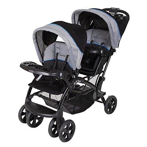 Baby Trend Double Sit N Stand Stroller, Millennium Blue