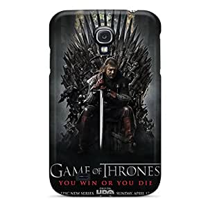 Protector Hard Phone Cover For Samsung Galaxy S4 With Support Your Personal Customized High-definition Game Of Thrones Tv Series Pictures RichardBingley