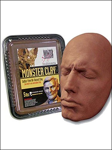 Monster Clay Premium Grade Modeling Clay (Monster Makers Mask)