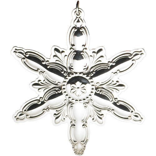 (Towle Old Master 2011 Sterling Silver Snowflake Ornament)