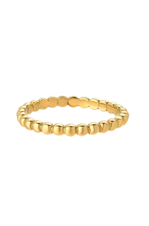 14k Gold bead Band