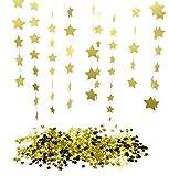 Best Star Wars Star 100 Stocks - KaLuc 26ft (8 Mts) Sparkling Gold Star Garl Review