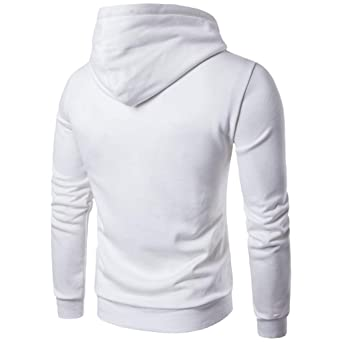 Zolimx Herren T Shirt Hoody Pullover Multi Taste Hoodie