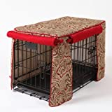 Crate Covers and More Crimson Espresso with Simply Red Cording Stagecoach, Double Doors