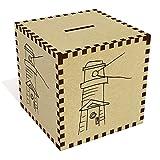 Azeeda Large 'Shining Lighthouse' Money Box / Piggy Bank (MB00063348)