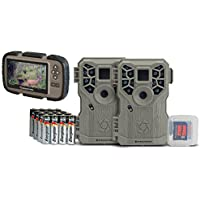 STEALTH CAM PX12 FX SHIELD 10MP TRAIL CAMERA COMBO 2-PACK WITH CARD VIEWER