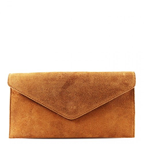 SIDE WKDS Camel SUEDE BODY LADIES BAGS SHOULDER LEATHER PARTY PROM BAGS WOMEN REAL CLUTCH CROSS FT8qrwF