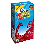 Z Fruit + Veggie Clif Kid Organic Fruit and Vegetable Rope Bar, Cheery Cherry, 0.5 Ounce, 5 Count