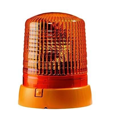 HELLA 008061111 KL 7000 Series 24V Amber Fixed Rotating Beacon: Automotive