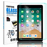 Innens iPad 9.7 inch Glass Screen Protector, 9H Hardness Scratch-Resistant, Anti-Fingerprint, Bubble Free Tempered Glass Screen Protector for Apple iPad 9.7(2018) / iPad 6 / iPad Pro 9.7 (2 pack)