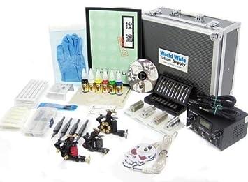 Amazon.com: Tattoo Starter Kit #3 -Tattoo Supply, Machine, Needles ...