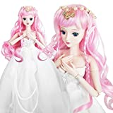 Love Secret Spirit 1/3 BJD SD Doll Demon Wish Girl 24'' 60cm 19 jointed dolls Toy