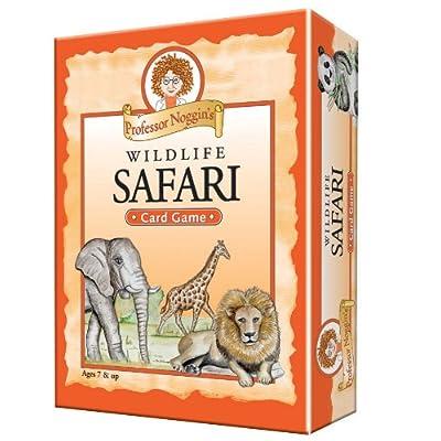 Professor Noggin\'s Wildlife Safari - A Educational Trivia Based Card Game For Kids - Ages 7+: Toys & Games [5Bkhe1802067]