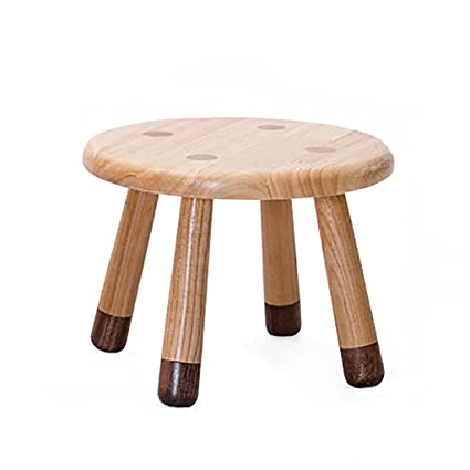 Amazon Com Lqqgxl European Chair Solid Wood Stool Children S Stool