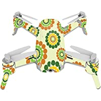 Skin For Yuneec Breeze 4K Drone – Hippie Flowers | MightySkins Protective, Durable, and Unique Vinyl Decal wrap cover | Easy To Apply, Remove, and Change Styles | Made in the USA
