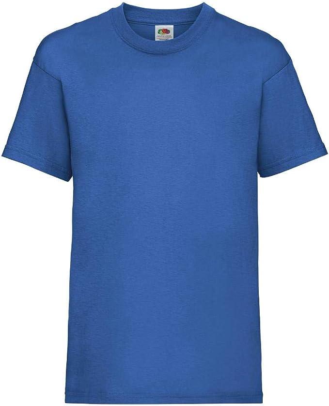 Fruit of the Loom Kids Original Tee T-Shirt Bambino 5 Pack