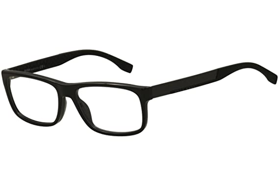 cf59bb70c48f Image Unavailable. Image not available for. Color: HUGO BOSS Eyeglasses  0643 0Hxe Black Carbon 56MM