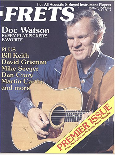 Frets Magazine Vol.1 No.1 March 1979 (D0c Watson on Cover)