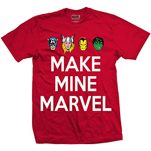 Shirt Rouge Mine Make Tee Red Men's Homme Marvel T Comics Ggdqwrz f6g7by