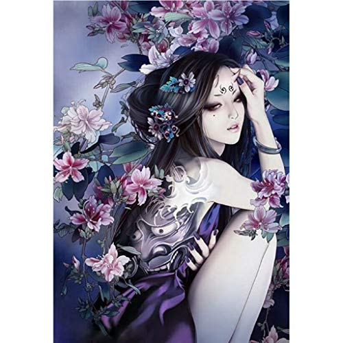 (DIY 5D Diamond Painting Costume Beauty by Number Kits, Rhinestone Pasted DIY Diamond Painting Cross Stitch from Pengy )