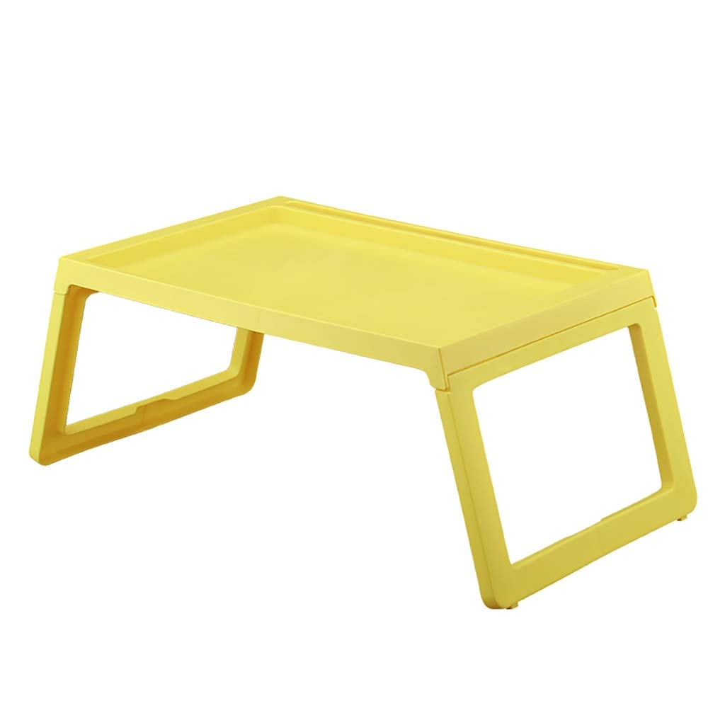 C Laptop Table, Folding Storage, Easy to Use, Simple and Stylish, A Variety of colors to Choose from (color   G)