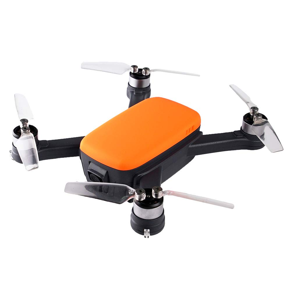2019 New 5.8G Wifi APP RC Drone Brushless With 2.4G Wifi FPV 8.0MP 1080P HD Camera 913-GPS Quadcopter Fashion Color - by Fullwei (orange)