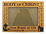 Body of Christ Wooden First Communion Photo Frame, Fits 4 x 6 Picture