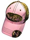 Woman's Realtree Camo Hat with Pink Trim Woman's Camo Ball Cap
