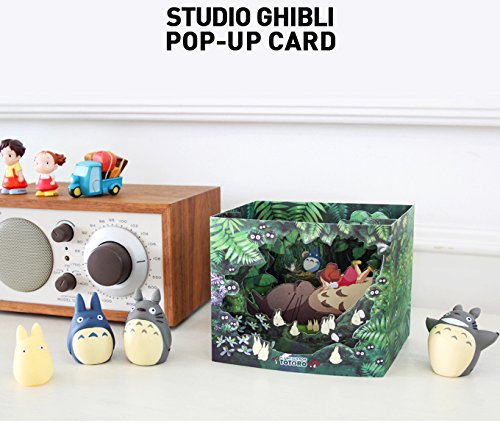 Studio Ghibli Characters Dimensional Cards Diorama 4 Types Limited Edition - My Neighbor Totoro, Kiki's Delivery Service, Spirited Away, Ponyo on the Cliff By the Sea (My Neighbor Totoro) Photo #3