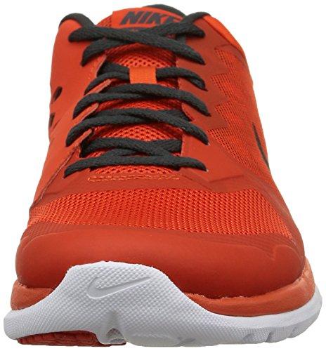 Nike Flex 2015 RN Zapatillas de running, Hombre Naranja / Negro / Blanco (Team Orange / Blk-Anthrct-White)